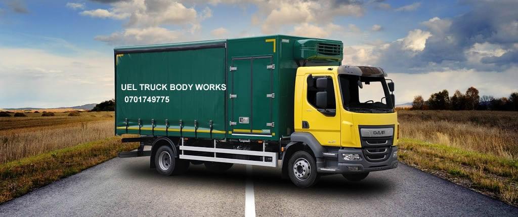 Custom Made Truck Body and Pickup Canopies in Uganda