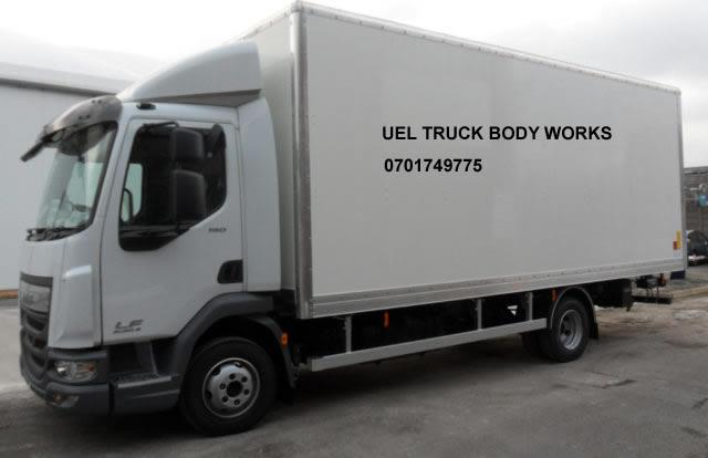 Lorry Body Works in Uganda