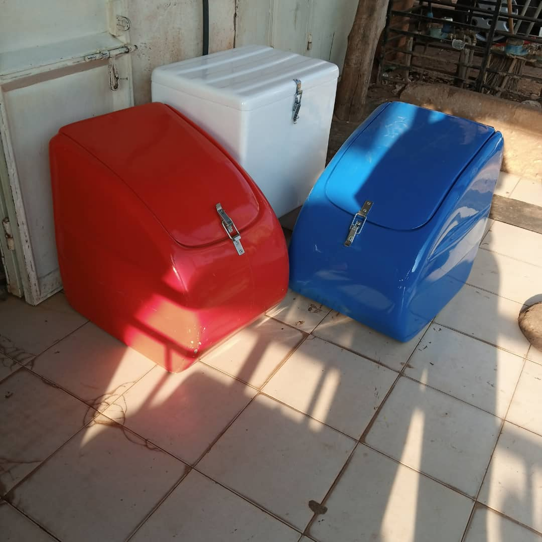 Motorcycle Courier Boxes
