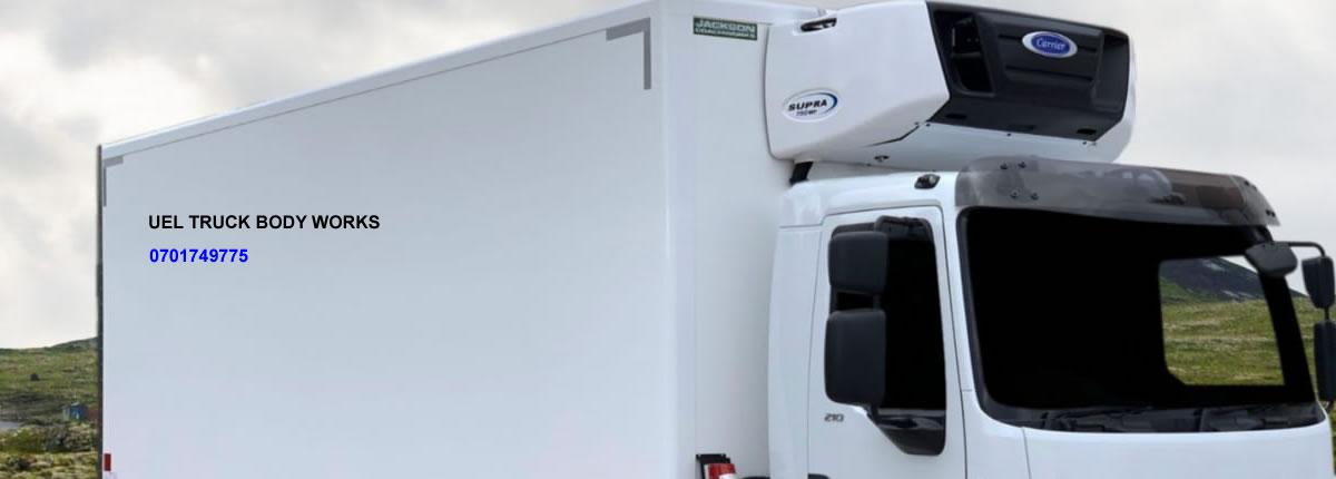 Refrigerated Truck Body - UEL Fibreglass Truck Body Works