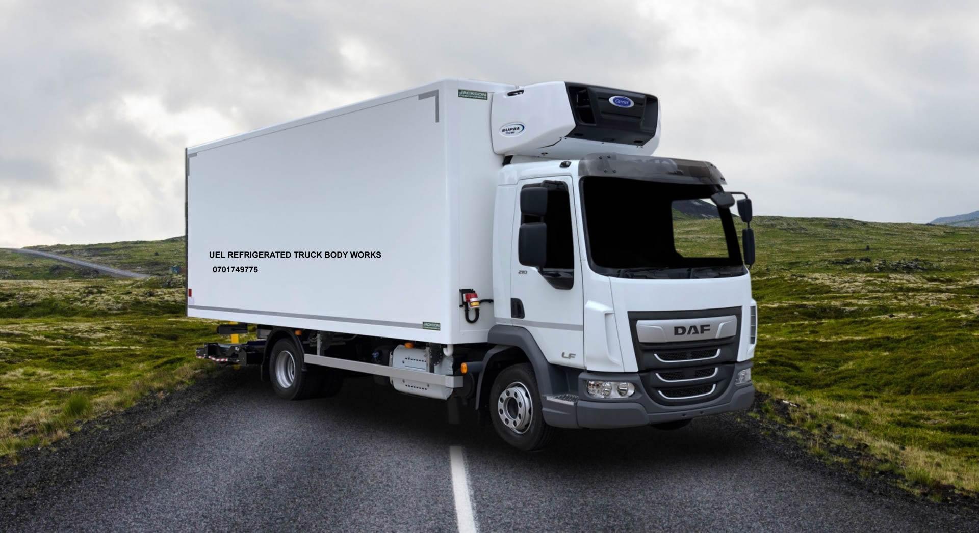 Refrigerated Truck Body Works in Uganda
