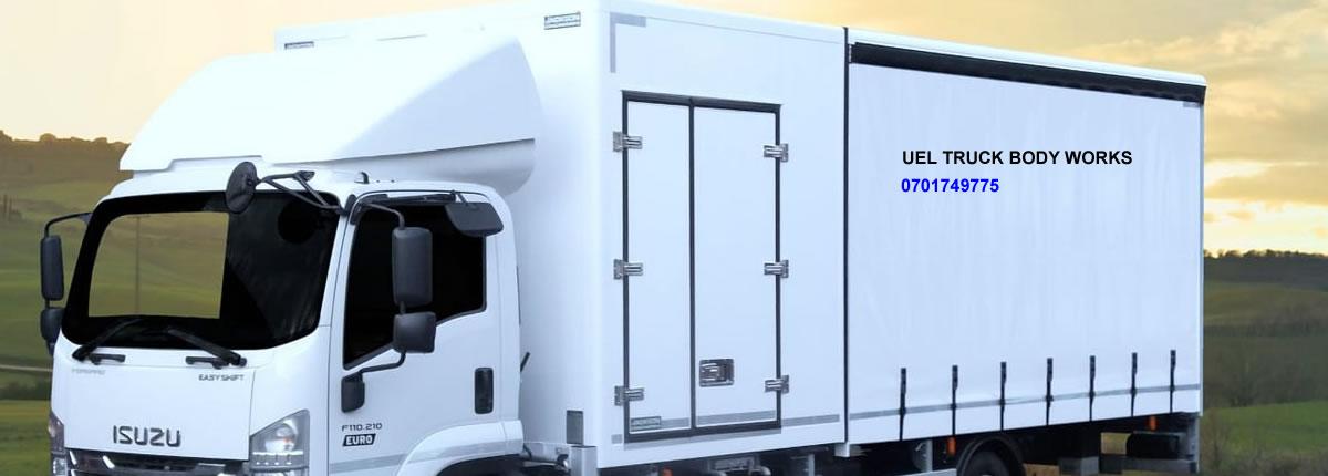 Truck Boxy Body - UEL Fibreglass Truck Body Works