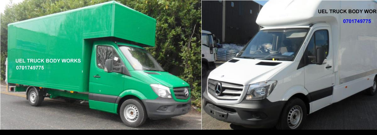 Van Box Body Works - UEL Fibreglass Truck Body Works